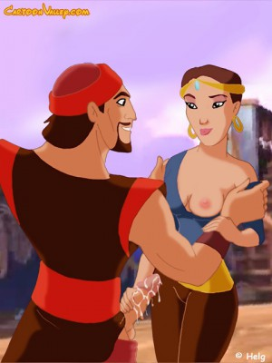 Marina give a handjob to Sindbad